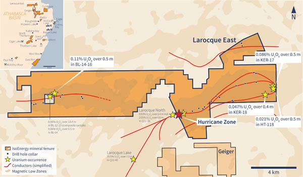 Larocque East Property Map