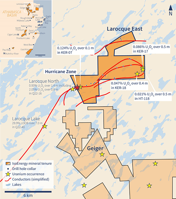Figure 1 - Larocque East Property Location Map