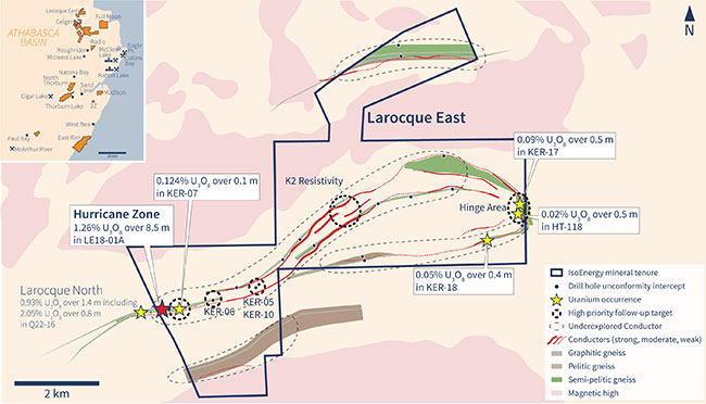 Larocque East Geology, Drilling and Targets