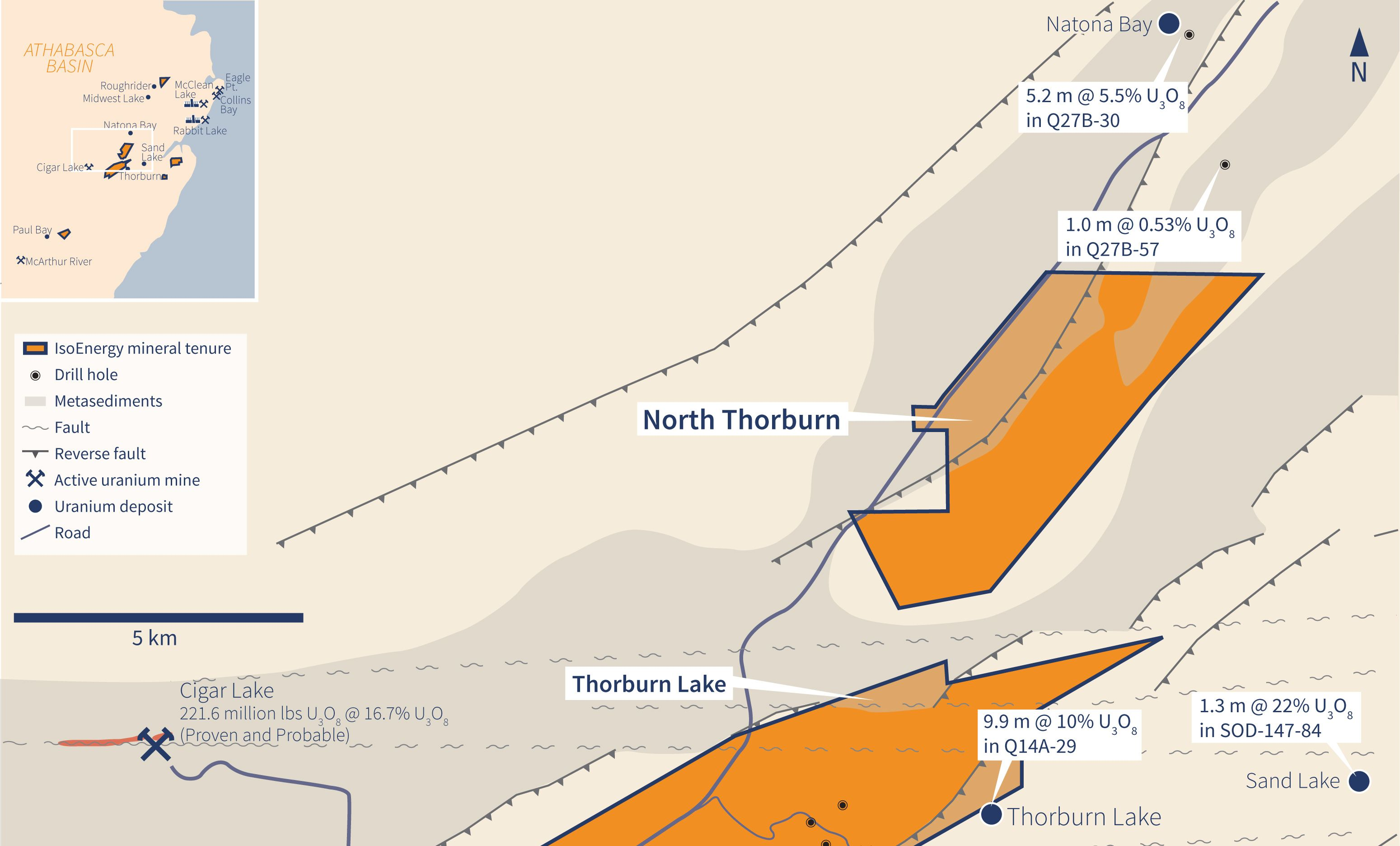 North Thorburn Property Map